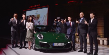One Millionth Porsche 911 Arrived In China