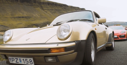 Porsche Road Trip Through Iceland  (1)