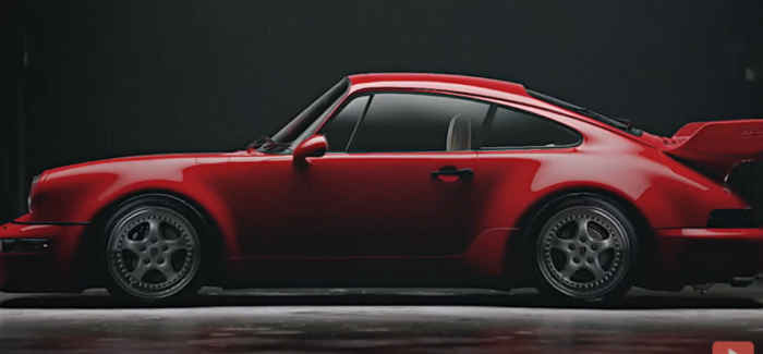Rare Porsche 911 Carrera RS 3.8 Computer Rendering – Video