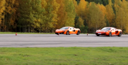 Rolling Race - 570 HP McLaren 570S vs 625 HP McLaren MP4-12C (1)