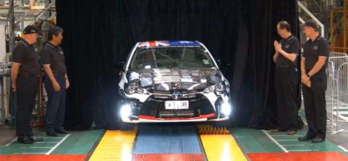 Toyota Australia Closes Production Operations After 54 Years – Video