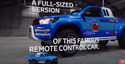 Toyota Hilux Bruiser Life Sized RC Replica