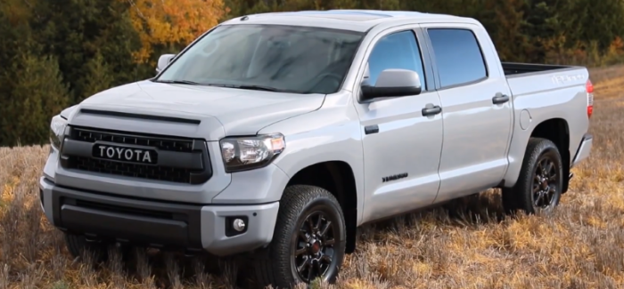 Toyota Tundra TRD Pro Canadian Spec Off Road Test Drive & Interior – Video