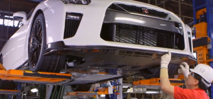 2017 Nissan GTR Assembly Factory – Video