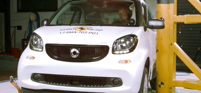2017 Smart Fortwo ED Electric Drive Crash Test & Rating – Video