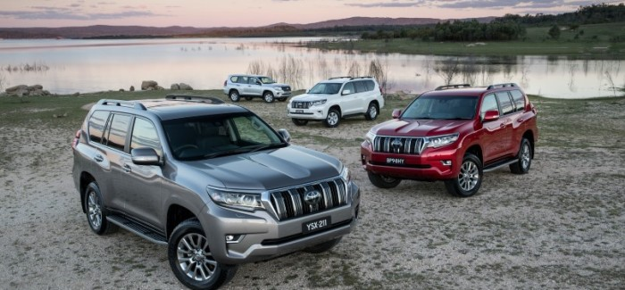 2017 Toyota Land Cruiser Prado Lineup Video