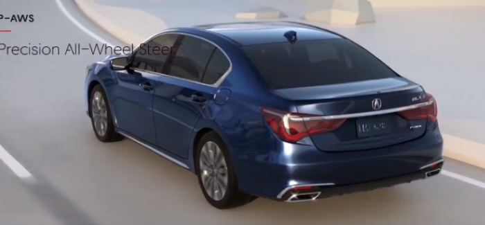 2018 Acura RLX SH-AWD & P-AWS System – Video
