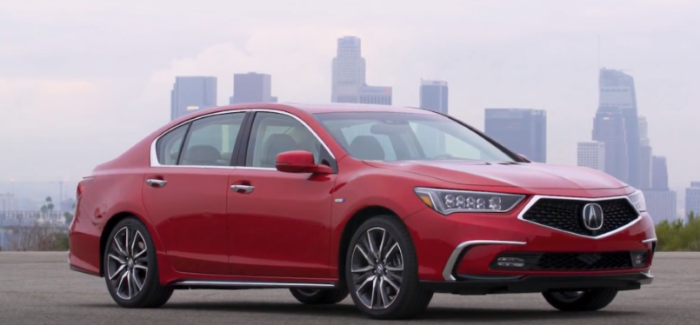 2018 Acura RLX Sport Hybrid With 377 Horsepower – Video