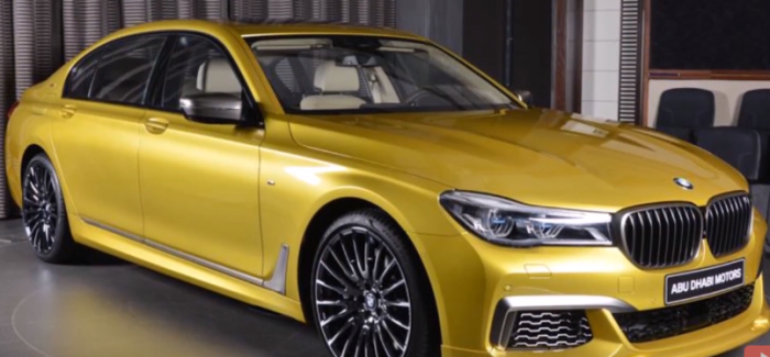 BMW Series MLi Alpina B In Individual Colors Video - Bmw alpina 7 series