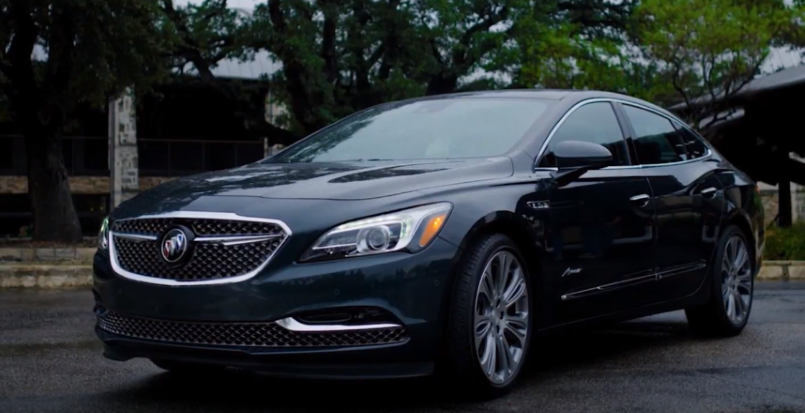 2018 Buick LaCrosse Avenir Exterior & Interior – Video ...