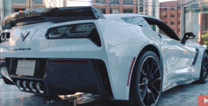 2018 Chevy Corvette Carbon 65 Heading To Barrett Jackson
