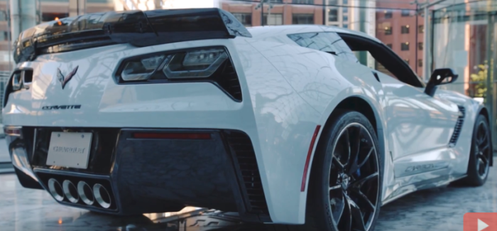 2018 Chevy Corvette Carbon 65 Heading To Barrett Jackson – Video