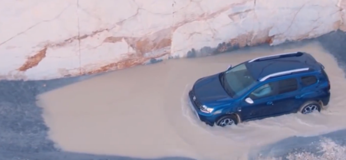 2018 Dacia Duster 4WD Off Road Capabilities – Video