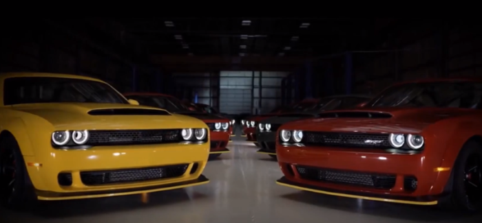 2018 Dodge Challenger SRT Demon Getting Ready For Customers – Video