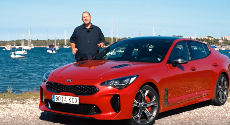 2018 kia stinger gt v6 twin turbo review video dpccars. Black Bedroom Furniture Sets. Home Design Ideas