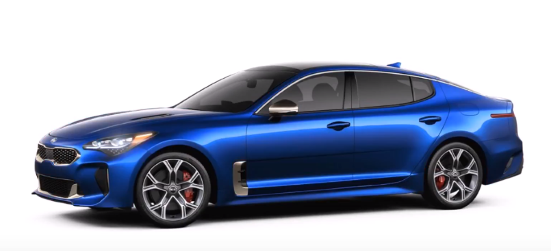 2018 Kia Stinger Colors – Video | DPCcars