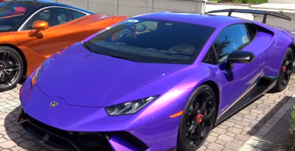 2018 Lamborghini Huracan Performante Quarter Mile Run (2)