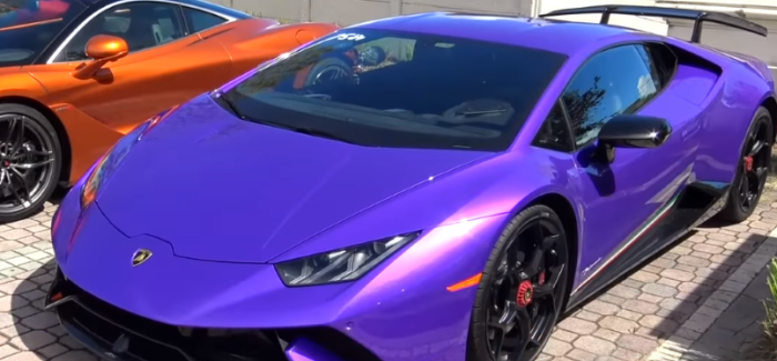 2018 Lamborghini Huracan Performante Quarter Mile Run – Video