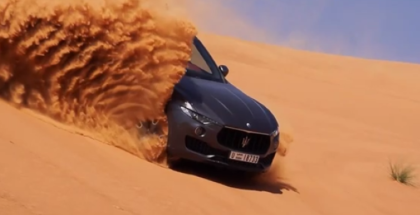 2018 Maserati Levante Media Test Drive in Dubai