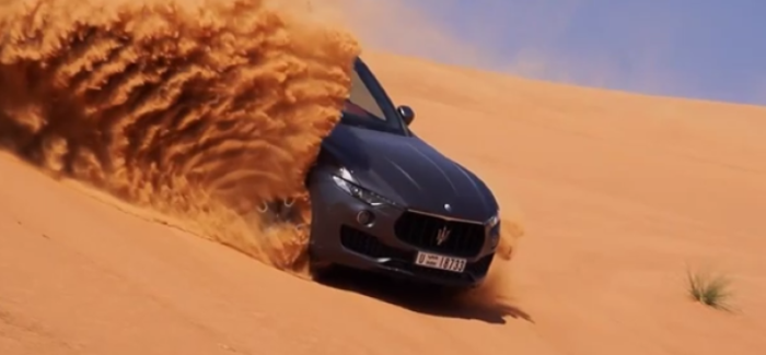 2018 Maserati Levante Media Test Drive in Dubai – Video