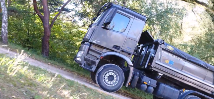 2018 Mercedes Arocs Truck TRC & HAD – Video