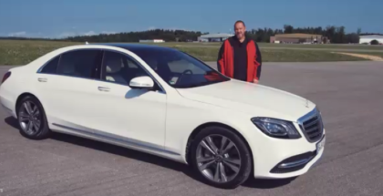 2018 Mercedes S-Class S560 Review