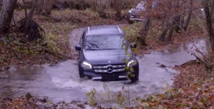 2018 Mercedes X-Class Extreme Off-Roading