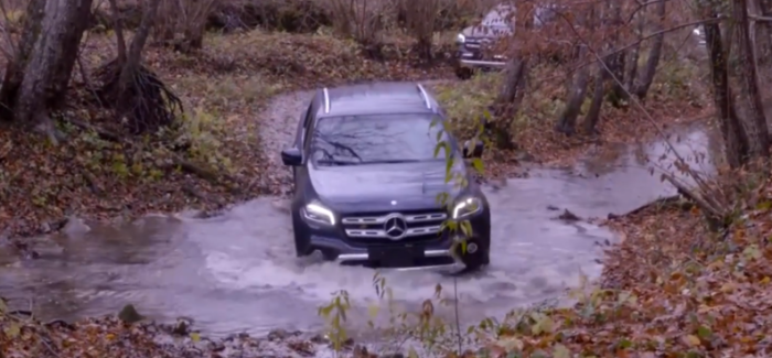 2018 Mercedes X-Class Extreme Off-Roading – Video