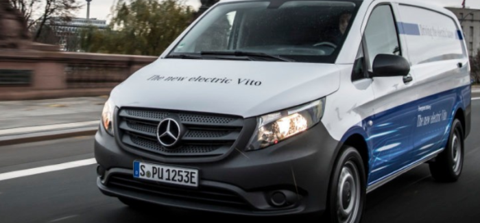2018 Mercedes eVito Van – Video