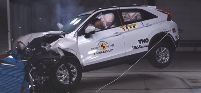 2018 Mitsubishi Eclipse Cross Crash Test & Rating