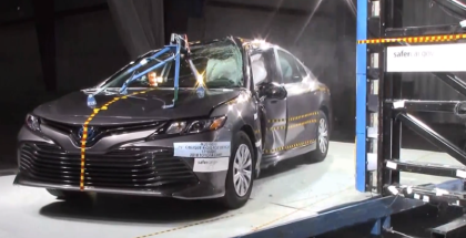 2018 Toyota Camry Crash Test & Rating - 5 Stars