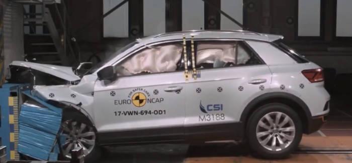 2018 VW T-Roc Crash Test & Rating – Video