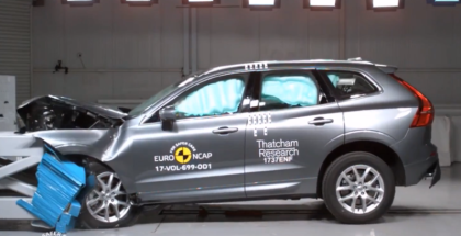 2018 Volvo XC60 Crash Test & Rating