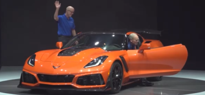 2019 Corvette ZR1 Unveiling – Video
