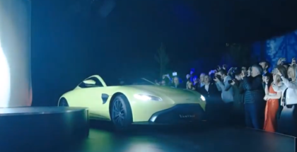 Aston Martin Vantage 2018 With AMG Engine