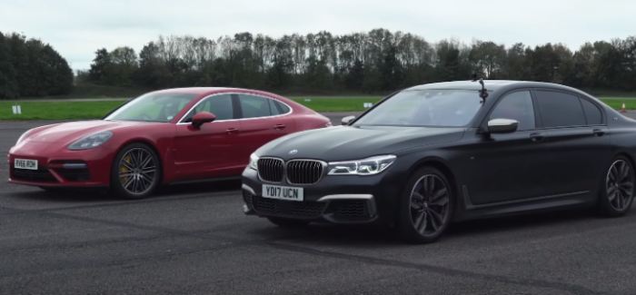 Drag Race – BMW M760Li vs Porsche Panamera Turbo – Video