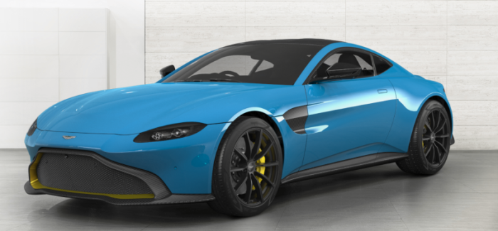 2018 Aston Martin Vantage Colors – Video