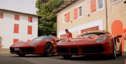 Ferrari 488 GTB Driven By Formula 2 Drivers