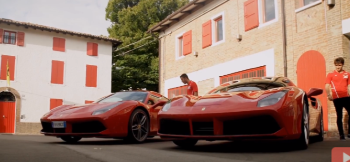 Ferrari 488 GTB Driven By Formula 2 Drivers – Video