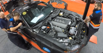 Ford Shelby Super Snake Mustang Live Build Time Laps (1)