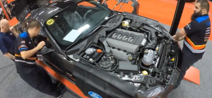 Ford Shelby Super Snake Mustang Live Build Time Laps – Video