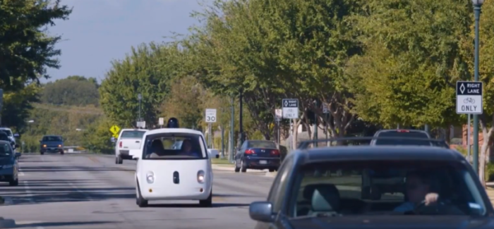 Google Driverless Self Driving Autonomous Car – Video
