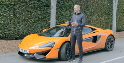 How To Drive A McLaren 570S In Winter - Supercar Winter Tires