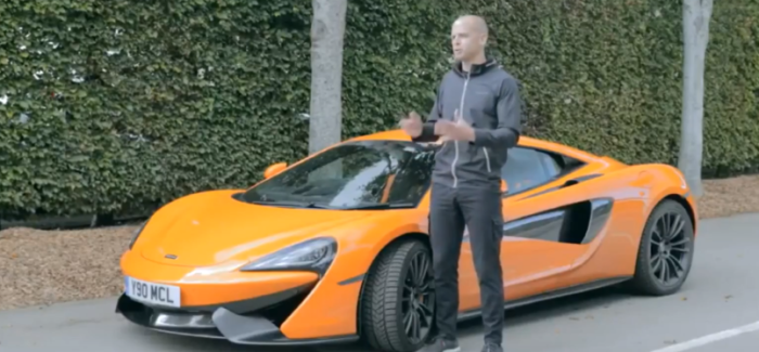 How To Drive A McLaren 570S In Winter – Supercar Winter Tires – Video