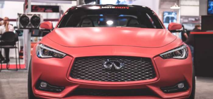 Infiniti Q60 Red Alpha Concept BY AMS Performance – Video