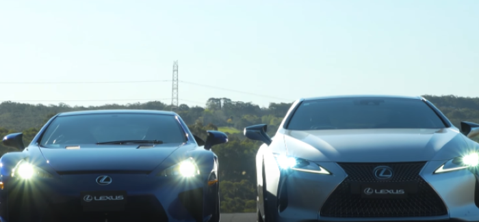 Lexus LC500 and Lexus LFA – Video