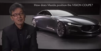 Mazda VISION Coupe Explained