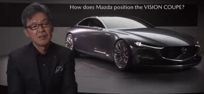 Mazda VISION Coupe Explained – Video