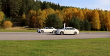 Mercedes AMG E63 S vs 2017  Corvette Z06 vs Tuned BMW M5 F10 (1)