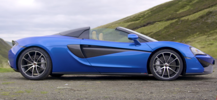 Motor Trend 2018 Mclaren 570s Spider Convertible Review Video